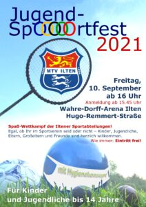 Jugend-SpOOOOOrtfest 2021 @ Sportplatz Ilten